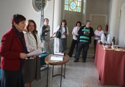 2011 – colleagues from Opole in Kladno, opening the exhibition Panoramas of Silesian Towns in the Minor Gallery of SVK