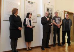 2018 – opening the exhibition on B. Hrabal in Opole