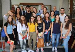 2018 – visit from Marche, Italy in SVK